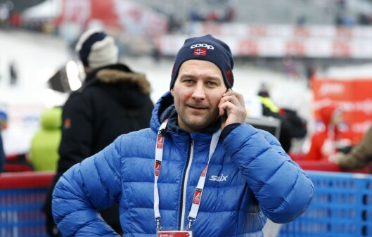 Northug-manager Are Sørum Langås.