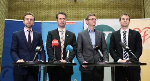 Same procedure as every year: Venstre og KrF stanset pressestøttekuttet. Og regjeringen skal «vurdere utvidelse av momsfritaket» - akkurat som i fjor