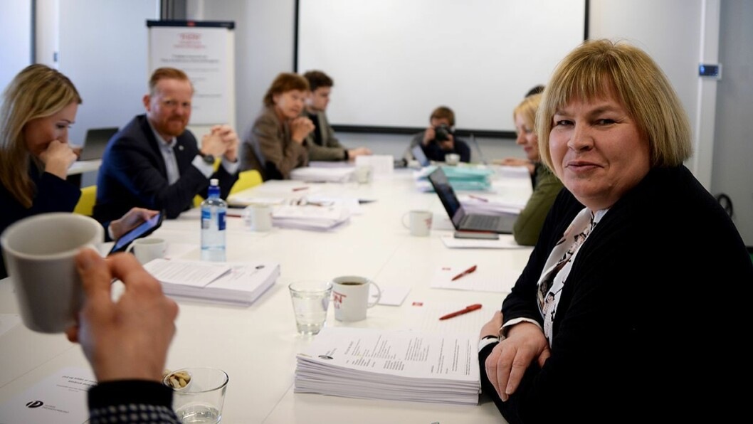 Generalsekretær Elin Floberghagen i Norsk Presseforbund.