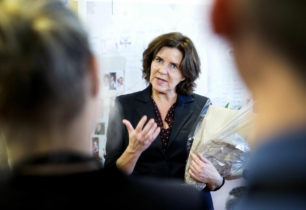 Tidligere arbeidsminister Hanne Bjurstrøm (Ap) er leder for Likestillings- og diskrimineringsombud.