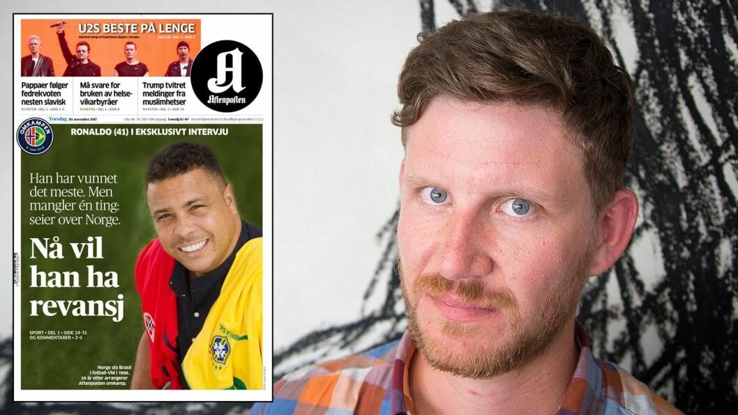 Klassekampens journalist Jens Kihl reagerer skarpt på dagens omtale av Aftenposten eget fotballevent.