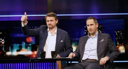 Etter snart 15 år tar «Senkveld» med Thomas og Harald slutt: Neste sesong blir den siste