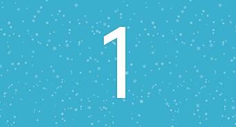1. desember! Her er første luke i årets adventskalender fra Medier24 og Kantar Media