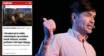 Når Dagbladet utdefinerer seg selv. Ønsker virkelig avisa å miste all troverdighet og gjøre seg irrelevant i dagens mest opphetede debatt?