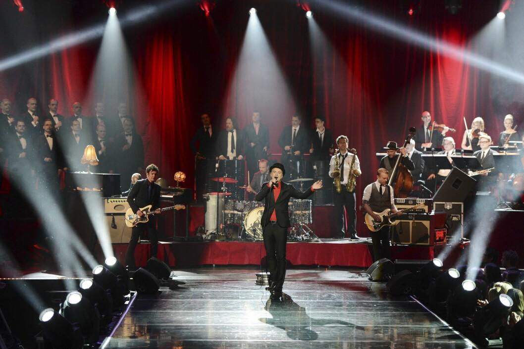 Her fra Spellemannsprisen 2013 - da Kaizers Orchestra ble kåret til Årets spellemann.