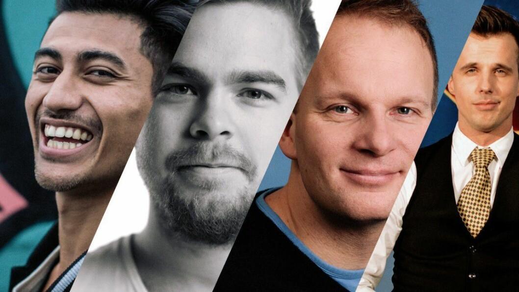 Andreas Hagen er programleder for sendingen og med på laget har han Simen