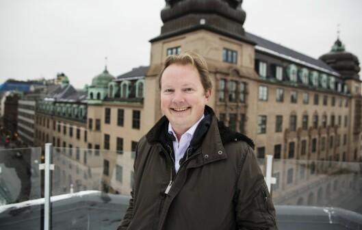 Investor Bjarne Melbye.