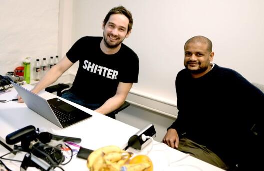 Per-Ivar Nikolaisen og Lucas Weldeghebriel startet Shifter i 2016.