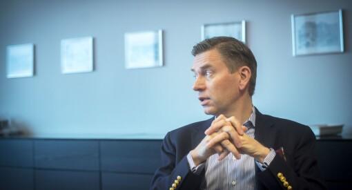 16 år gammel startet Raoul Grünthal (51) sin egen avis. Nå er svensken sjef for 2000 norske Schibsted-ansatte