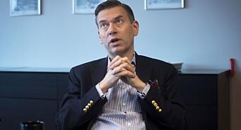 - Taper mindre enn ventet, sier Raoul Grünthal: Schibsted øker omsetningen, men resultatet faller