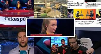 I helga skjøt NRK blink med sin satsing på esport. Og det er en gåte at dette ikke er mer attraktivt for flere medier
