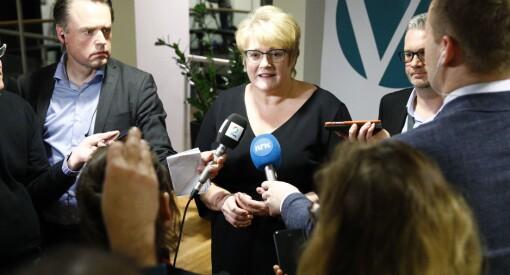 Hun skal lose i havn ny pressestøtte og skrote NRK-lisensen: Alt tyder på at Venstres partileder blir ny kulturminister