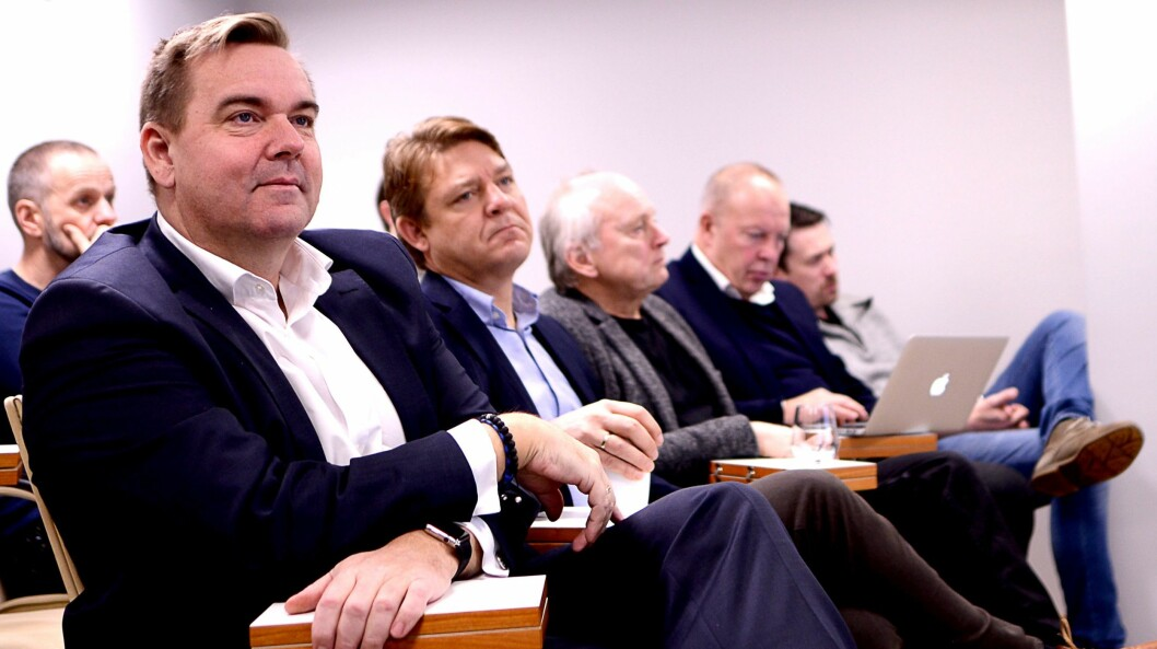 VANT PÅ STREIKEN: Bauer-sjef Lasse Kokvik og P4-sjef Kenneth Andresen fikk nye lyttere mens NRK-journalistene streiket. Noen av lytterne har blitt igjen.