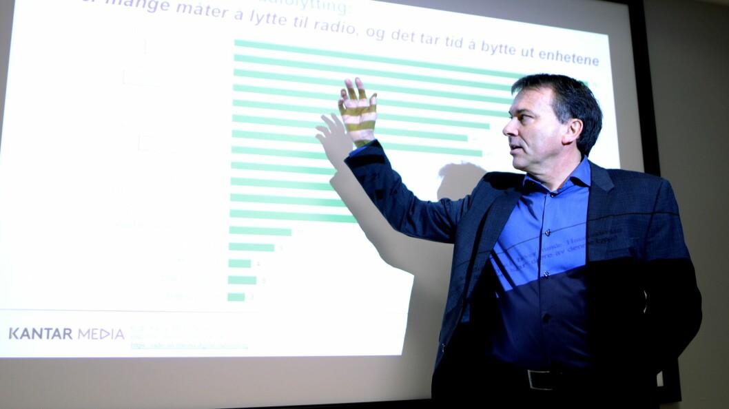 Knut-Arne Futsæter, Kantar Media.