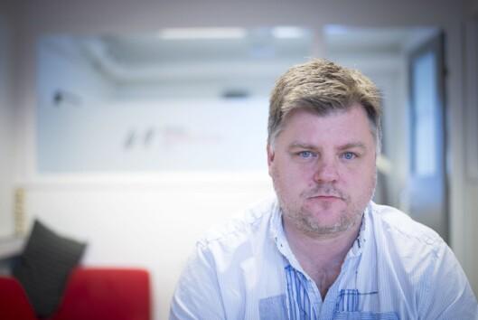 NRK-journalistenes leder Richard Aune.