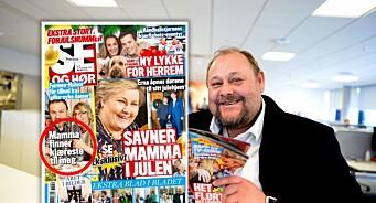 Uffa meg - her har ikke Se og Hør dekning for tittelen: Sjefredaktør legger seg flat etter romantisk Farmen-tabbe