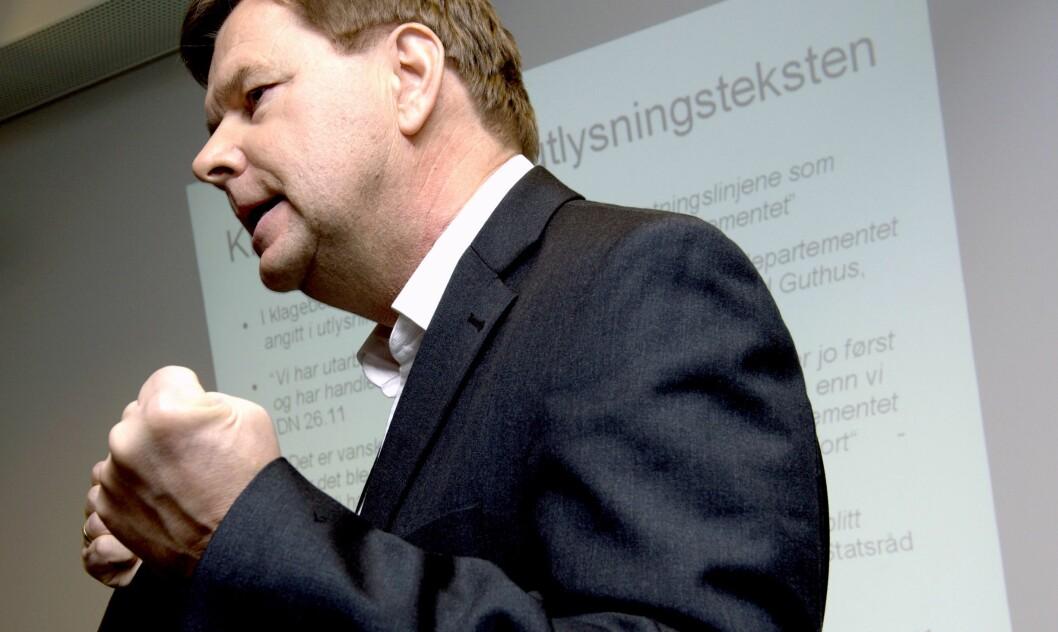 Svein Larsen, direktør i Radio Metro. Bildet er fra en annen sammenheng, i 2008.