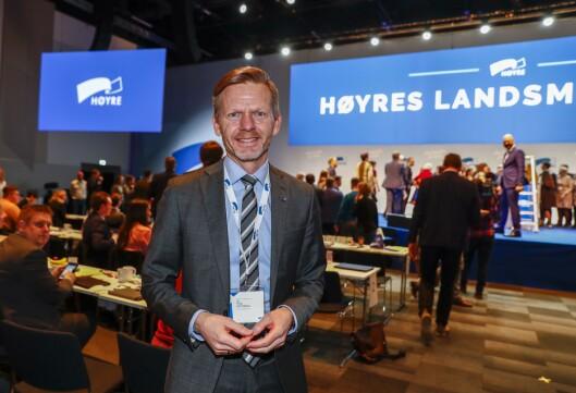 Stortingsrepresentant og mediepolitisk talsmann Tage Pettersen i Høyre.