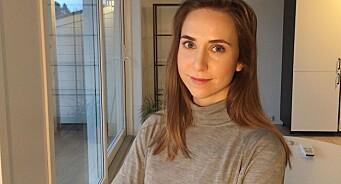 Kirsti Kringstad (26) er ansatt som nyhetsjournalist i NRK Trøndelag