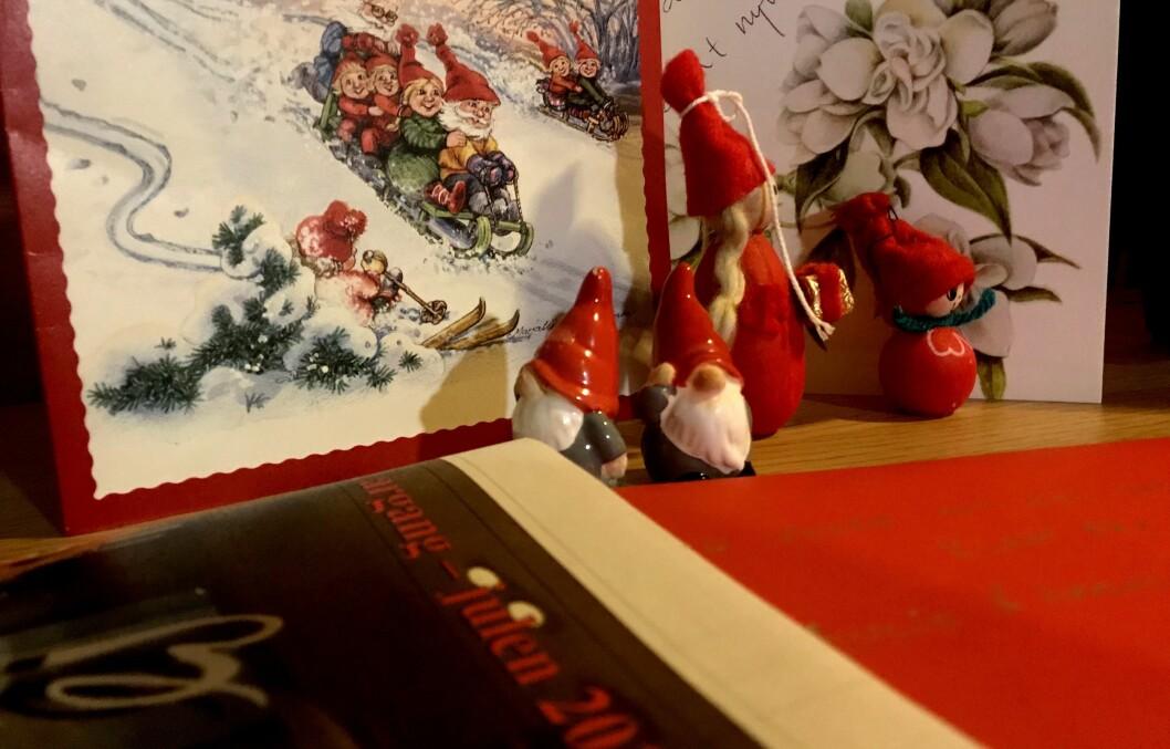 JUST FOR YOU, MY FRIEND: Brevene og kortene du fikk til jul, var skrevet til deg. Og heldigvis kommer det fortsatt noen slike.