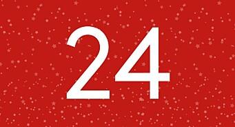 Hvor mye har trafikken på Medier24 vokst det siste året? Se, det får du svaret på i aller siste luke av årets kalender