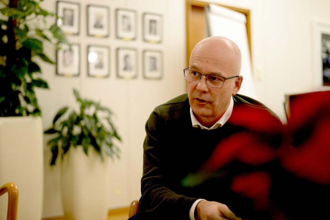 Kringkastingssjef Thor Gjermund Eriksen i NRK