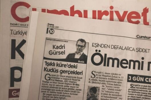 Etter 11 måneder i fengsel er Kadri Gursel tilbake i Cumhuriyet.