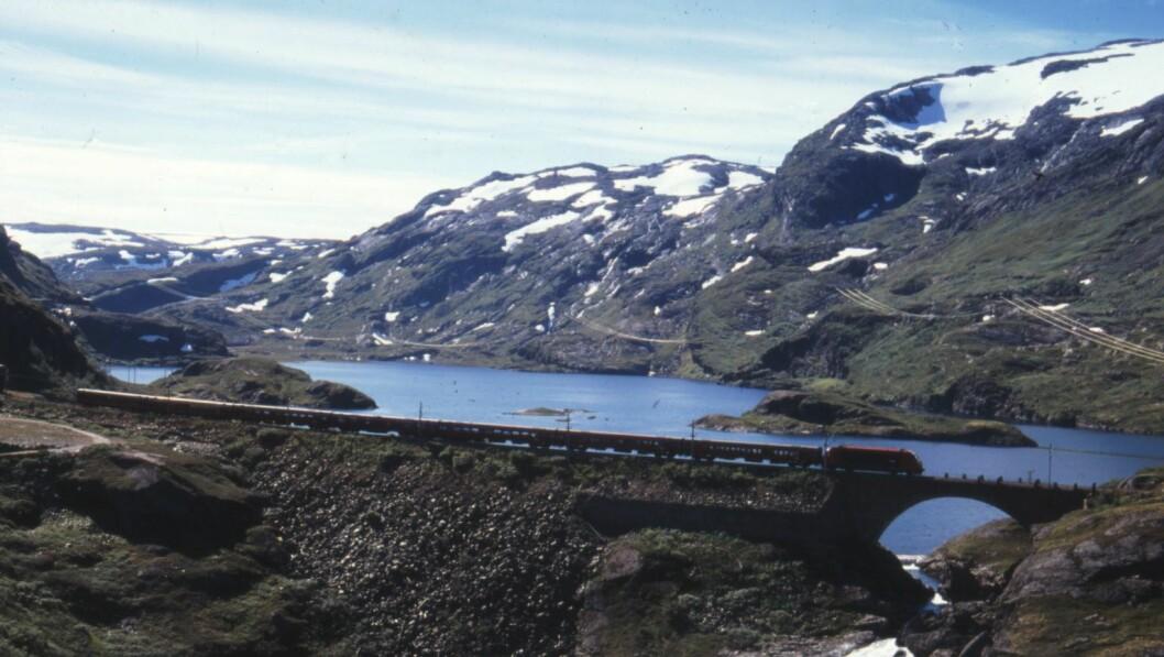 NRKs første sakte-TV for noen år siden gikk over Bergensbanen.