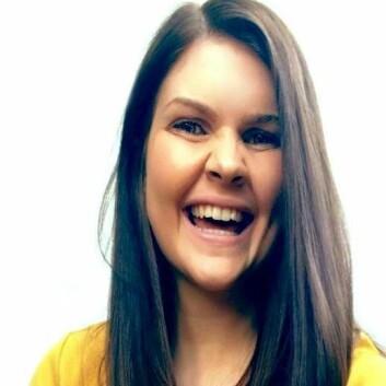 Masterstudent Elisabeth Urdal.