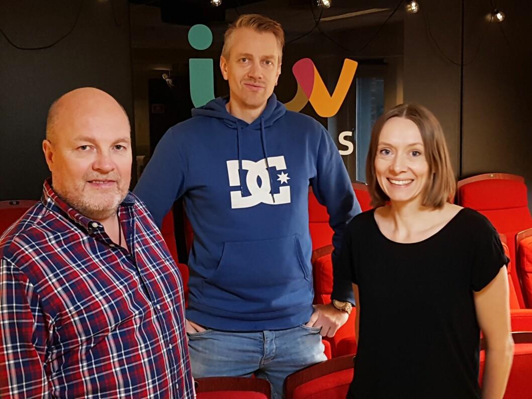 BLIR KOLLEGER: Rune Biseth, Jon Sverre Hoiden og Solveig Eikum.
