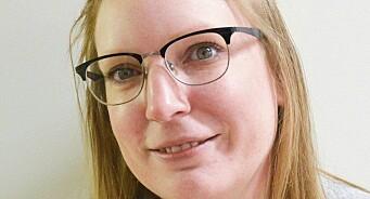 Siri-Helene Hagen Lia (32) blir journalist i Eikerbladet