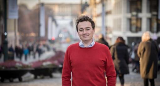 Høyre-politiker Aksel Fridstrøm har alltid hatt lyst til å jobbe som journalist. Nå får han muligheten i Minerva