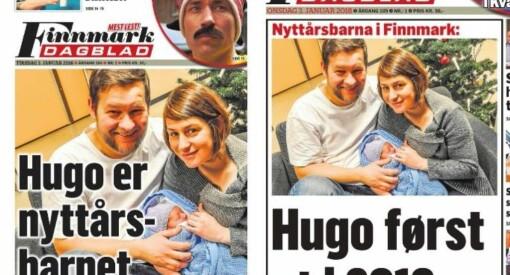 - Jeg er ganske sikker på at vi ikke har glemt en fødsel, ler småbarnsfaren om Finnmark Dagblads nyttårstabbe