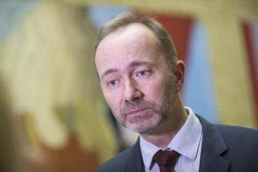 Trond Giske - nå fritatt fra vervet som nestleder i Arbeiderpartiet.