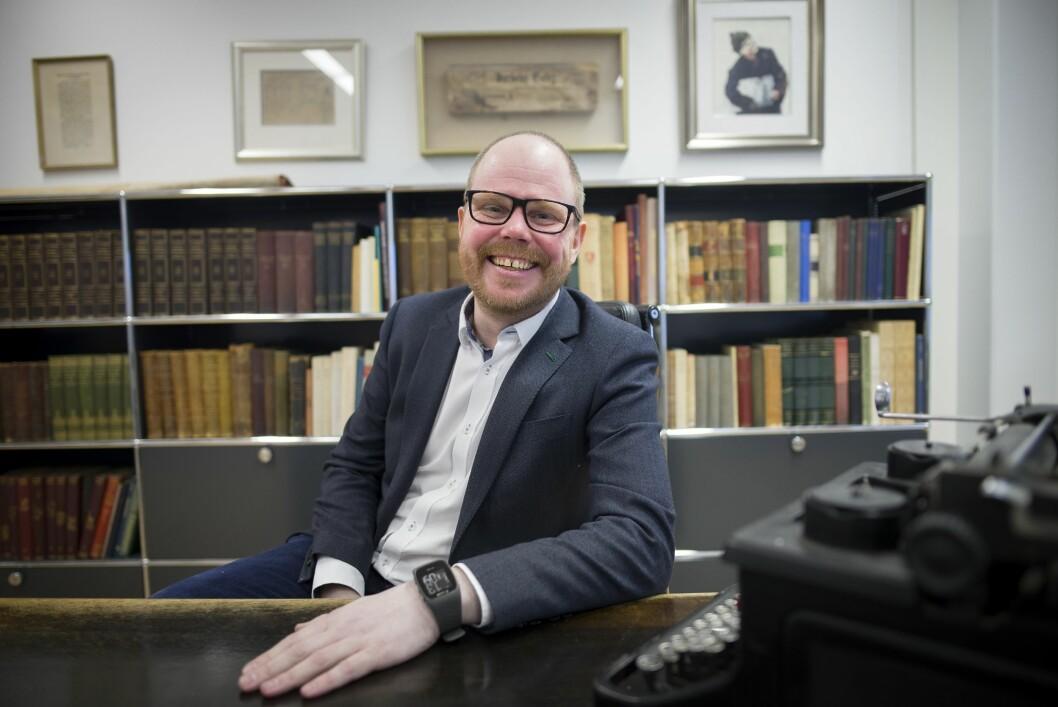 Sjefredaktør og administerende direktør Gard Steiro i VG.