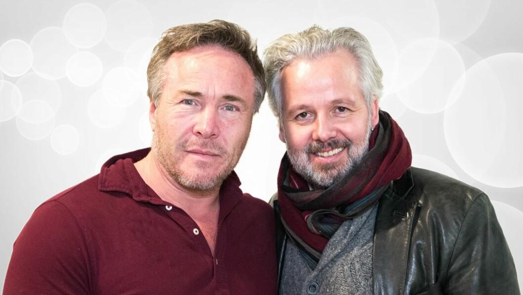 NY DUO: Michael Andreassen og Ari Behn leder «Ari & Michael» på P4 hver søndag.