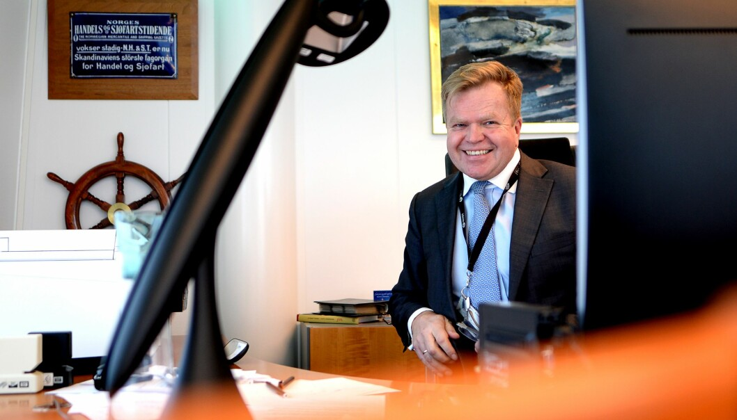 Gunnar Bjørkavåg (57) gir seg som konsernsjef i NHST Media Group.