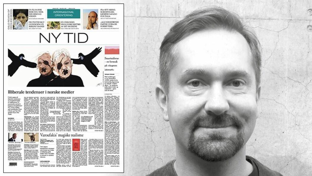 John Færseth tar for seg siste nummer av Ny Tid.