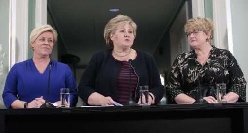 Høyre, FrP og Venstre vil endre mediestøtten og skrote dagens NRK-lisens: Dette har partiene blitt enige om