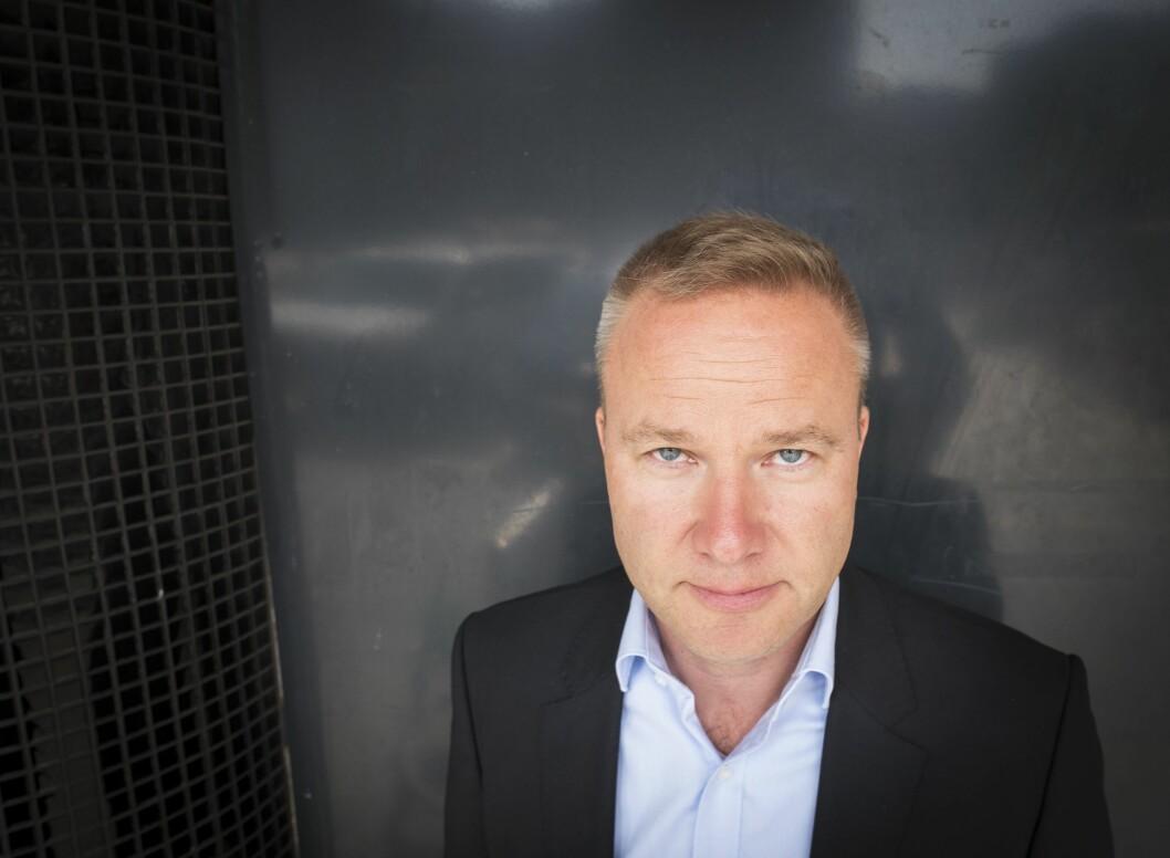 Helge Lurås i nettstaden Resett.