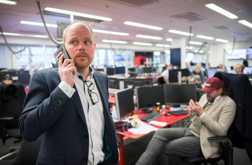 Gard Steiro, sjefredaktør i VG.