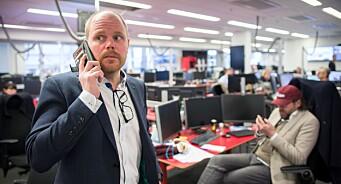 VG-redaktør Gard Steiro innrømmer at avisas første artikkel om Giske-videoen var mangelfull