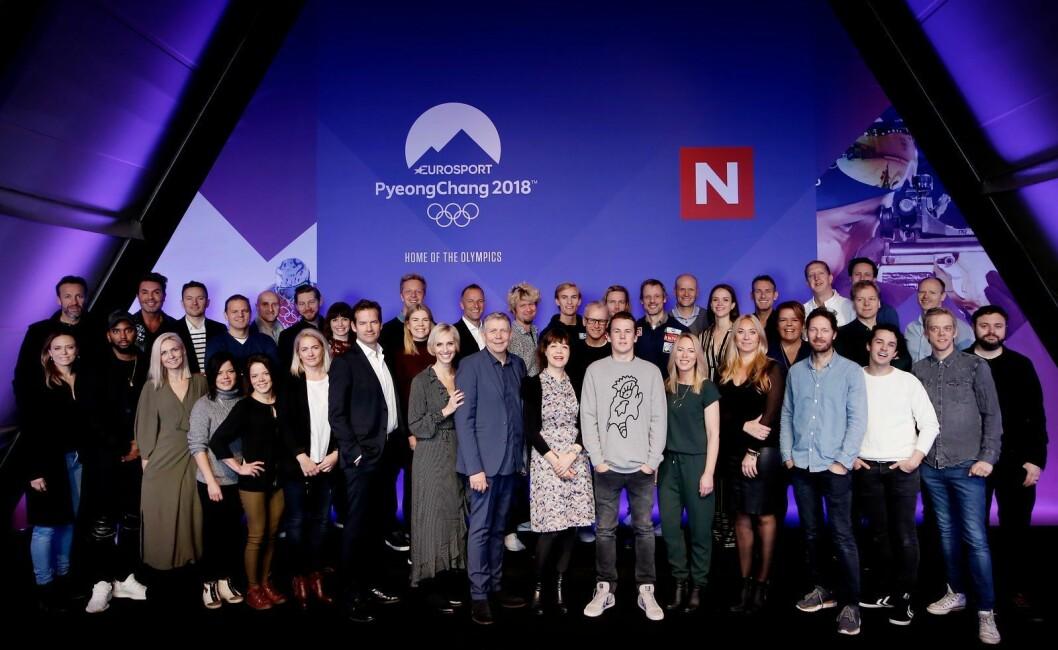 Denne gjengen skal sikre TV-våren for Discovery-kanalene - med både OL, fotball og underholdning.