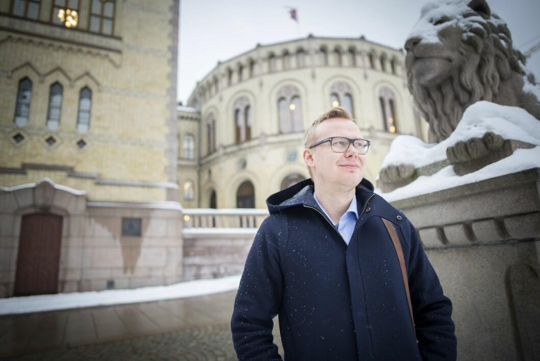 Stortingsrepresentant Kristian Torve i Arbeiderpartiet.