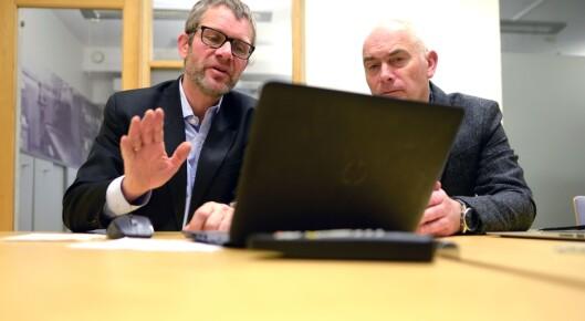Fagsjef Geir Engen i MBL og ANFO-direktør Jan Morten Drange forteller om funnene.