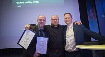 Hitra-Frøya stod bak fjorårets beste lokaljournalistikk i Trøndelag. Adresseavisen tok prisene for både nyhet og feature