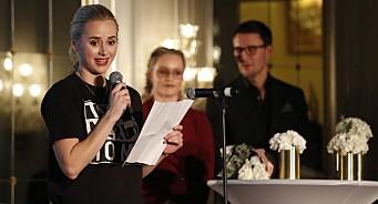 Hovedprisen på Vixen Influencer Awards ble ikke delt ut - den ville gått til Ulrikke Falch. «Helsesista» debuterte med hele to priser
