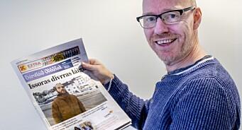 Slik feirer Harstad Tidende på Samenes nasjonaldag - har oversatt hele forsiden til samisk