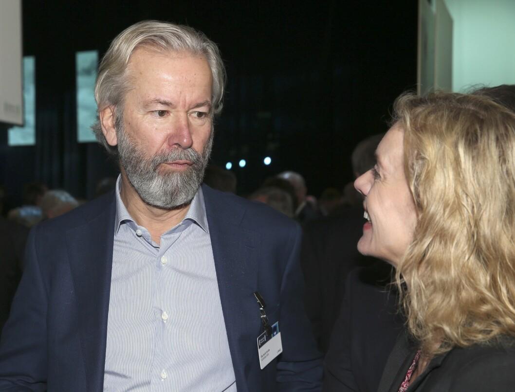 Schibsteds styreleder Ole Jacob Sunde, her fra NHOs årskonferanse tidligere i år.