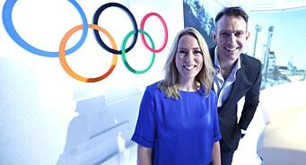 TVNorge-vertene Carten Skjelbred og Anne Sturød er klare for to uker med fullt OL-trøkk